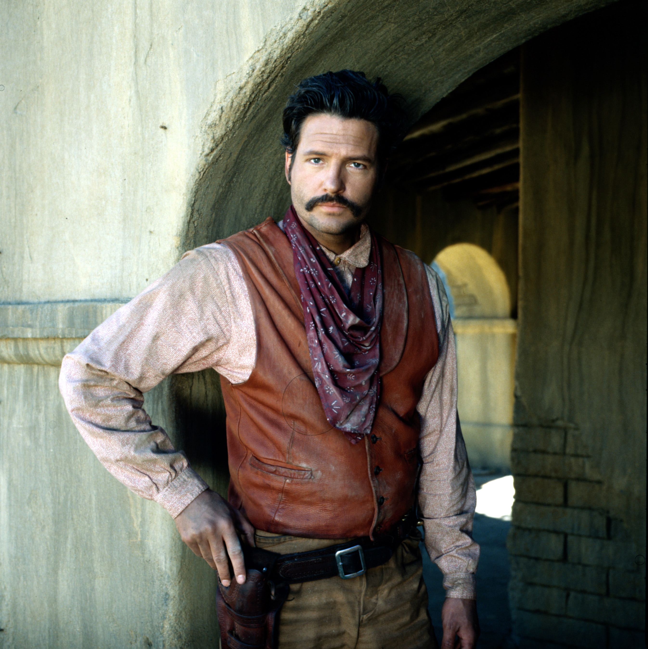Dale MIdkiff as Magnificent 7's Buck Wilmington